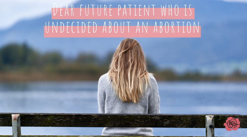 undecided about an abortion